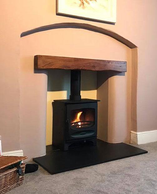 Gallery Oak Fireplace Beams